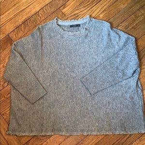 THML gray sweater